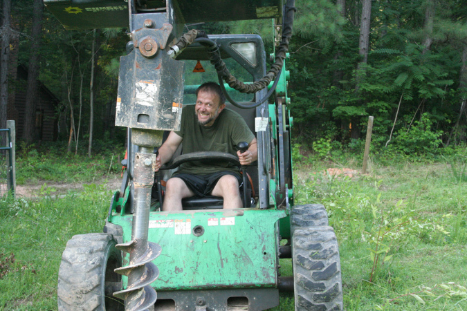 Me in the Bobcat